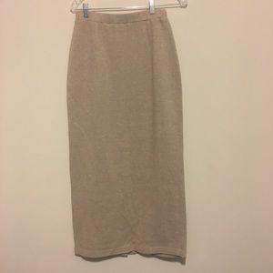 Jones NY Sport vintage knit sweater pencil skirt